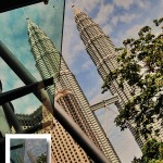 View Of Petronas Twin Towers from KLCCC