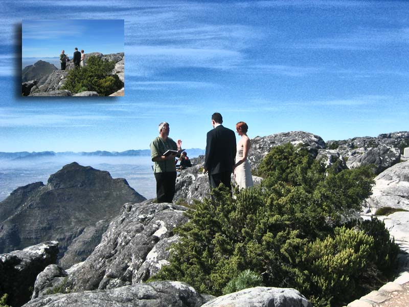 Table Mountain Wedding