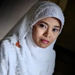 Intan On Her Wedding Day